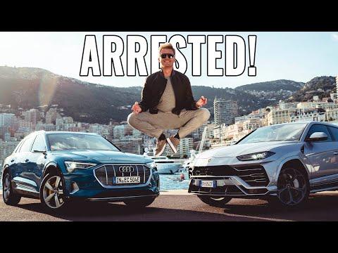 AUDI E-TRON GOT US ARRESTED! | NICO ROSBERG | eVLOG