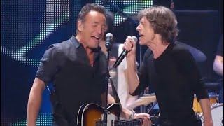 Tumbling Dice - The Rolling Stones and Bruce Springsteen (live at Prudential Center, Newark 2012)