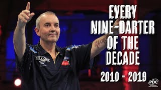 Every Televised Nine-Darter of the Decade   2010-2019