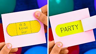 Easy And Fun Home Party Hacks || Awesome Party Hacks And DIYs