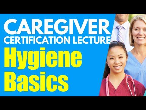 Home Caregiver Certification: Hygiene Basics | Homecare Aide Training | Caregiver Training