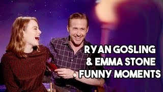 Ryan Gosling And <b>Emma Stone Funny Moments</b>