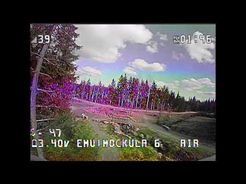Mockula6: First outdoor acro flight with EmuFlight and Project Mockingbird on the Mobula6 (2020 #43)