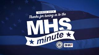 MHS Minute - March 2019