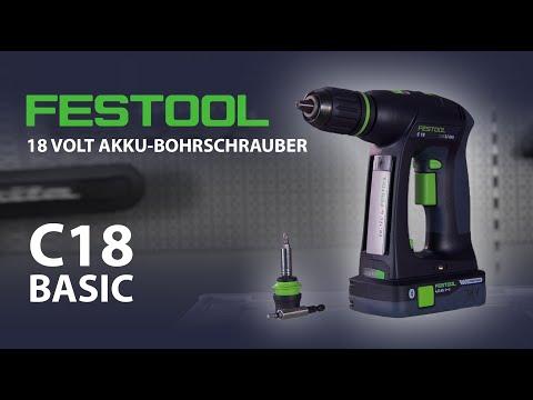 Festool C 18-Basic Bohrschrauber im Test