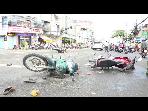 Tai nạn giao thông liên hoàn, nhiều người bị thương