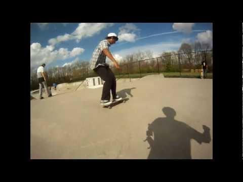 Bloomington Indiana Skatepark Montage 2012