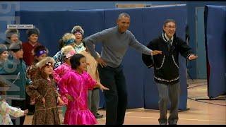 Эскимосский танец Обамы