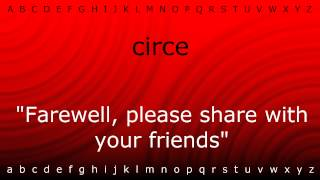 Here I will teach you how to pronounce 'circe' with Zira.mp4