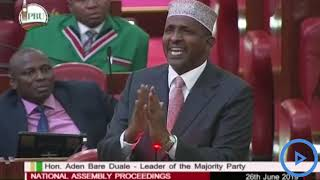 Duale defends MP Jaguar's remarks on foreigners