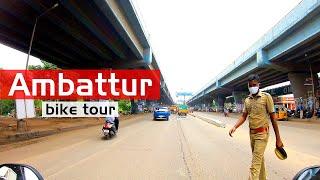 Is Chennai Normal? Ambattur Industrial Estate   Chennai bike tours