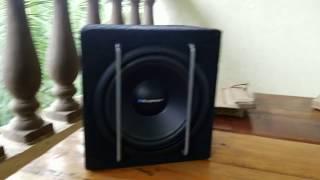 Blaupunkt Active subwoofer GTB 8200A | Unboxing