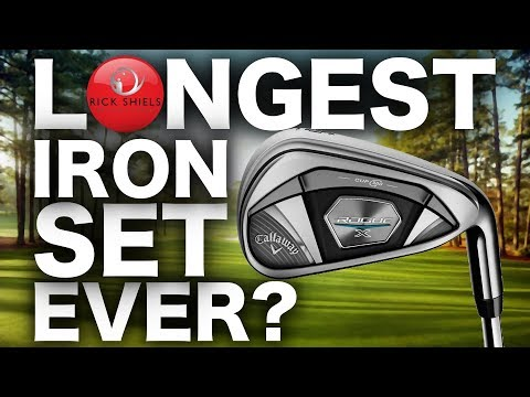 Longest irons EVER? Callaway Rogue X Review