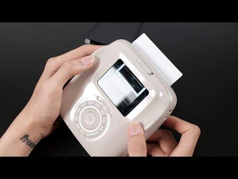 Đồ chơi mới - Fujifilm Instax SQ20 : có thẻ nhớ, quay được video, thích in thì mới in