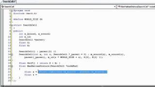 A* (A-Star) Pathfinding C++ Tutorial 1 - part 1/4