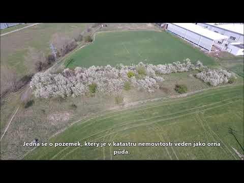 Video z << Prodej pozemku pro komerční výstavbu, 2229 m2, Mělník >>