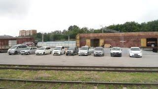 Выгрузка 6 автомобилей Токидоки 10 августа 2016 г
