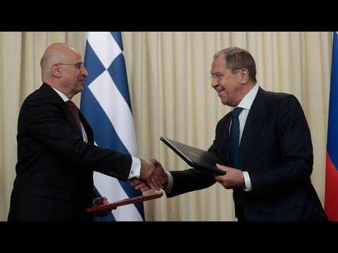 Κοινό Πρόγραμμα Διαβουλεύσεων υπέγραψαν Δένδιας-Λαβρόφ…