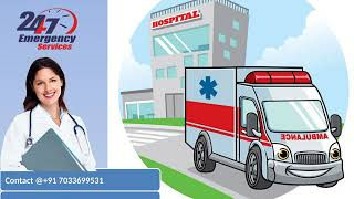 Get Most Charming Road Ambulance Service in Ranchi and Tatanagar by King