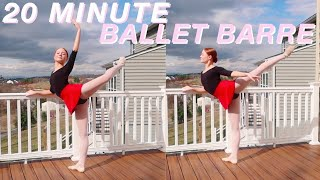 20 MINUTE FOLLOW-ALONG BALLET BARRE CLASS