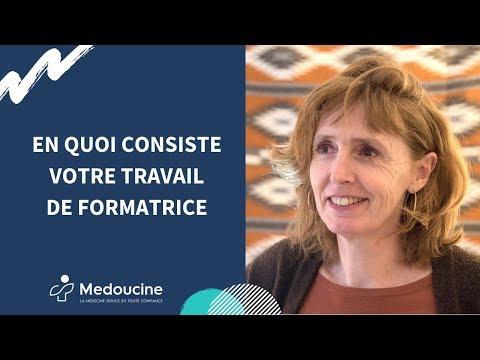 En quoi consiste votre travail de formatrice ? Par Sandrine Deluz - Paris 4