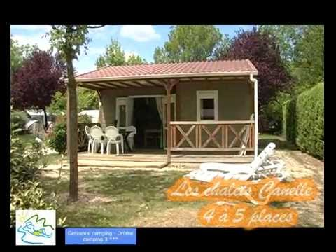 Gervanne camping Chalets Canelle