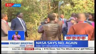 Raila Odinga says there will be no election on October 26th