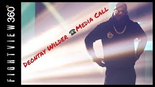 DEONTAY WILDER MEDIA CONFERENCE CALL LIVE! WILDER FURY 16 DAYS AWAY! ALL ACCESS EP: 1 SATURDAY!