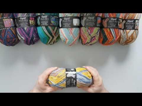 Opal Hundertwasser Sockenwolle Eigenschaften und Besonderheiten