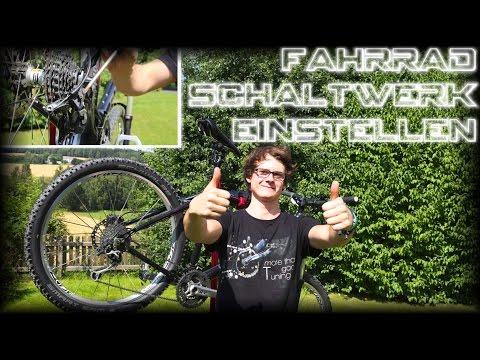 Fahrrad Schaltwerk einstellen - Shimano Deore XT