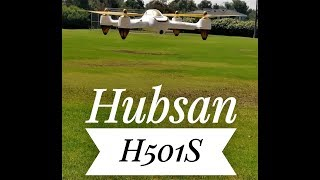 Hubsan x4 H501S 75th Flight 8-24-18 (Brushless,1080p,Gps)