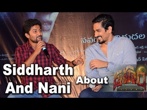 Nani And Siddharth Discussion About Gruham