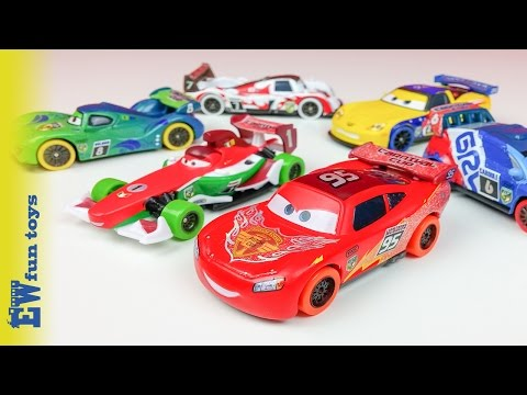 Disney Pixar Cars Diecast Toys Part 11 Carnival Cup Rio Racer Mcqueen New カーズ 2016