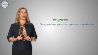 Уроки русского Разбор глагола по составу