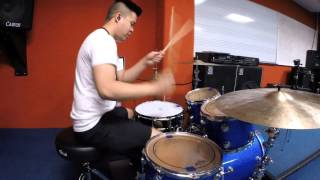 Gambar cover Excel Mangare - Love Never Felt So Good (Michael Jackson) Drum Cover
