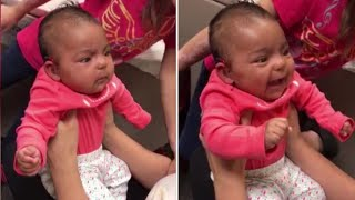 See Baby's Reaction to Hearing Mom's Voice for the First Time