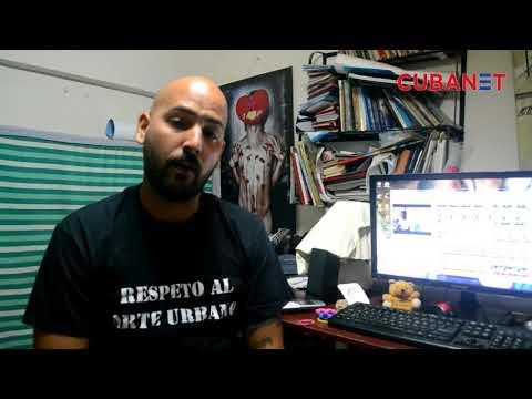Declaraciones del grafitero cubano Yulier P para CubaNet