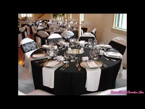 Black and White Party Decorations Ideas