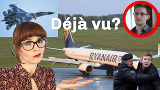 Ryanair Flight ILLEGALLY Grounded to Catch Dissident… Déjà vu?