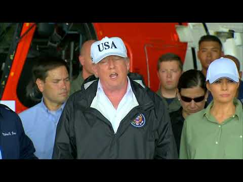 WATCH: President Trump discusses Irma relief in Fort Myers, FL