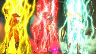 Injustice 2 - Raiden All Colors for Lightning/Dragon Intro, Super Move and Victory Pose
