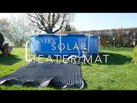 Intex solar heater mat