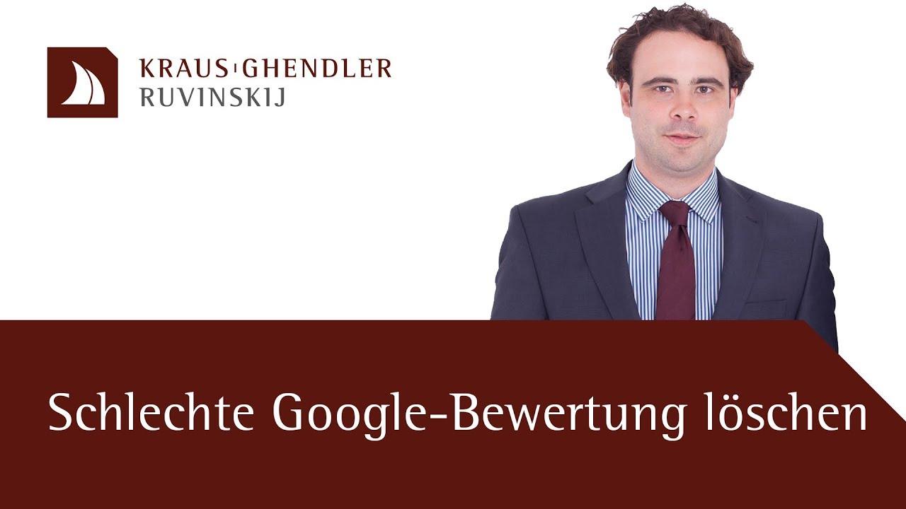 Eine schlechte Google-Bewertung wieder löschen lassen – Geht das?