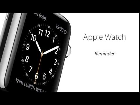 [Apple Watch] Reminder