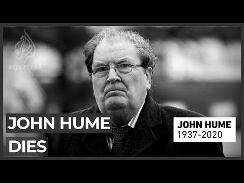 North Ireland leader John Hume passes away