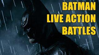 BATMAN - LIVE ACTION BATTLES vs DARTH VADER WOLVERINE DEADPOOL KILLMONGER