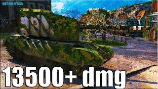 НЕ ЗРЯ ПОЛУЧИЛ ТРИ ОТМЕТКИ 🌟 FV4005 Stage II World of Tanks 13к урона