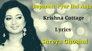 (LYRICS) - Shreya Ghoshal | Bepanah Pyar Hai   - YouTube