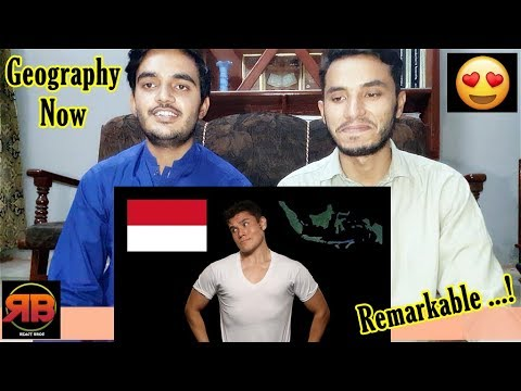 Foreigner Reacts To: Geography Now! Indonesia
