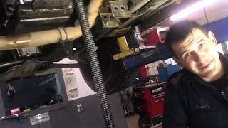 Chevrolet GMC 4L60E Transmission removal 4x4 Silverado